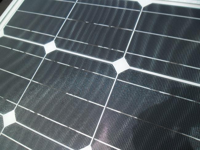 Isofoton-Solarmodul nach 5 Jahren